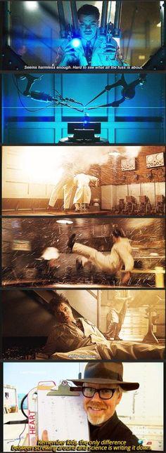 Howard Stark, the first Mythbuster.