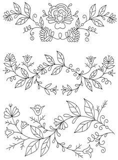 Peasant Folk ARt Embroidery 3 | by oziahz