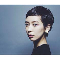HAIR STYLIST▶kilico./Takuya Inoue #CYAN #CYANMAG #HAIR #HAIRSALON #SHORTHAIR #ショート #黒髪 #髪型