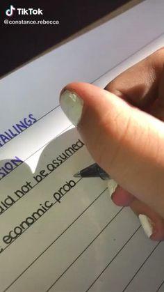 Bullet Journal Notes, Bullet Journal Writing, Bullet Journal School, Bullet Journal Ideas Pages, School Organization Notes, Study Organization, School Notes, Life Hacks For School, School Study Tips