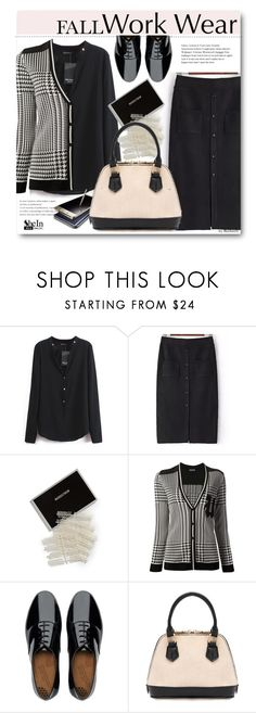 """""""Work Wear - Ready For Monday"""" by beebeely-look ❤ liked on Polyvore featuring Samsung, Three Potato Four, Emanuel Ungaro, FitFlop, WorkWear, office, Sheinside, officewear and shein"""
