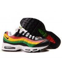 e583294161ea Air Max 95 Ultra Essential Triple Yellow Green Red Trainer Outlet Air Max  87
