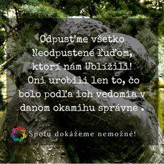 Odpusťme všetko Neodpustené!