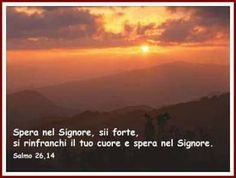 Spera nel Signore