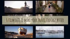 6 LUTs to make your travel footage better!  #footage #diyfootage #diyvideo #luts #cinematicluts #lutsforadobe #footageluts #footagefilters #videofilters #travelfilters #instagramfilters #photofilters #cinemafilters #footagecoloring #footagecolor #footagestyling