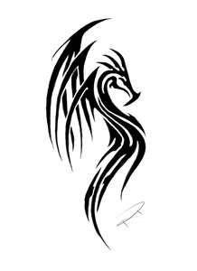 Tribal Dragon By Ripasquale On DeviantART