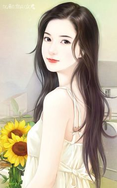Pretty Anime Girl, Beautiful Anime Girl, Anime Art Girl, Female Drawing, Female Art, Cute Cartoon Girl, Fantasy Art Women, Girly Drawings, Beautiful Chinese Girl