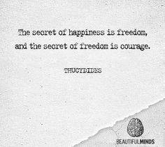 #quote #happiness #secret #freedom