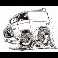 Linkel art. Respect the Van