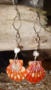 these sunrise shell earrings are ridiculously gorgeous!!!!!