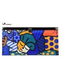 Ženska denarnica ali manjša večerna torbica http://zabavna.si/si/denarnice/75-zenska-pisana-denarnica-mona.html