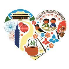 Taiwanese illustrations