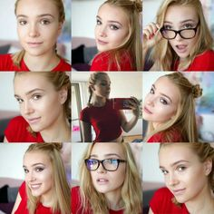 Koláž obľúbených fotografií Youtubers, Make Up, My Favorite Things, Celebrities, Beauty, Makeup, Celebs, Beleza, Cosmetology