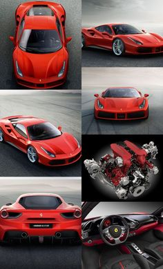 ferrari-lovers:  The New Ferrari 488 GTB