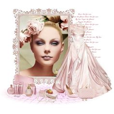 A Girl With Flowers In Her Hair Contest by sherryvl on Polyvore featuring Manolo Blahnik, Alexandra de Curtis, Blue Nile, Carolee, Estée Lauder, Zac Posen and Finders Keepers