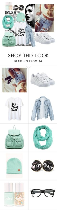 """#lovefashion#"" by edytamurselovic ❤ liked on Polyvore featuring adidas Originals, Faustine Steinmetz, T-shirt & Jeans, ModestlyChic Apparel and Batiste"