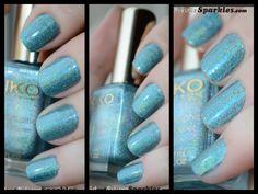 Kiko Holographic 401 #beautyblogs # blogs #nails #notd Holographic, My Nails, Swatch, Nail Designs, Nail Polish, Pretty, Blog, Nail Desings, Nail Polishes