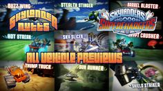 Skylanders SuperChargers - All Vehicle Previews. Not sure what all the vehicles are like for SuperChargers? Check out this video of all 20 Vehicle Previews for Skylanders SuperChargers.