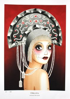 Angelique Houtkamp: Orlova - Art print, Giclee Print