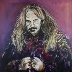 Ilja Leonard Pfeijffer - acryl, 80x80cm, 2020 My Arts, Painting, Painting Art, Paintings, Painted Canvas, Drawings