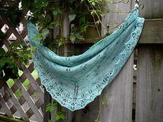 Ravelry: Oaklet Shawl pattern by Megan Goodacre