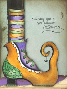 Cedar Chest Designs, Digital Crafts - Witches Boots, $3.00 (http://www.cedarchestdesigns.com/witches-boots/)