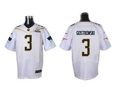 Nike Patriots #3 Stephen Gostkowski White 2016 Pro Bowl Men's Stitched NFL Elite Jersey pls email us via chinajerseyscustomerservice@gmail.com if any questions