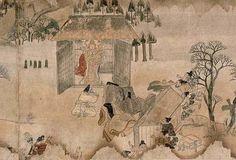 Ippen Shonin Eden, Kamakura period,13th century, Japan