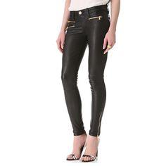 Leather Skinny Pants.