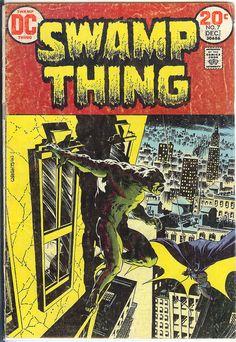 Swamp Thing V1. 7.  VG/FN. Dec 1973.  DC by RubbersuitStudios #berniewrightson #batman #comicbooks