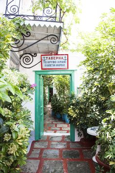 'The Secret Port - Captain Andreas' is the name of this quintessential Greek tavern tucked away in the labyrinth alleys of Hydra island. Island Food, Greek Islands, Oh The Places You'll Go, Greece, Tours, Greek Isles, Greece Country