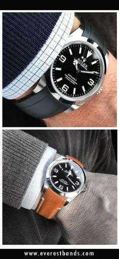Sporty or classy, customize your Rolex to get the perfect look this winter!