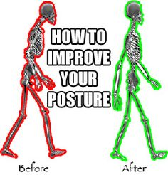 Don't be a hunchback! Building your body is a great idea, slouching isn't. You don't need to look like a marine, but a straight spine radiates confidence and actually makes you feel better. This is...