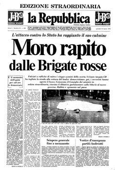 La Repubblica - 17 marzo 1978 http://it.wikipedia.org/wiki/Agguato_di_via_Fani