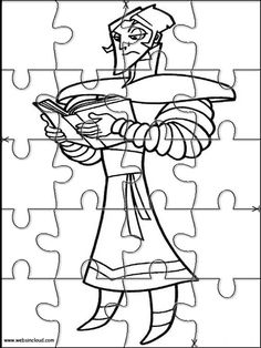 Printable jigsaw puzzles to cut out for kids Igor 8 Coloring Pages