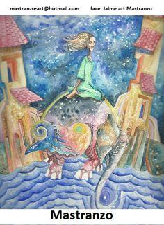 Portada (La Vuelta al sueño en siete despertares)  Escrito por:  Bettina Chávez. Ilustraciones de: Jaime Mastranzo.