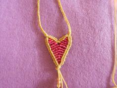 ΚΑΡΔΙΑ -ΜΑΤΑΚΙ | kentise Macrame Necklace, Crochet Necklace, Jewelry, Hearts, Crochet Collar, Jewellery Making, Jewelery, Jewlery, Jewels