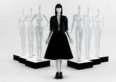 ONE Collection #MoreMannequins #FemaleMannequin #WindowDisplay #runway