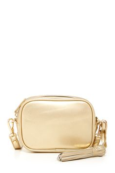 Francine Crossbody on @nordstrom_rack pretty in light gold.