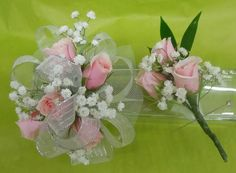 Prom, corsage, boutineer