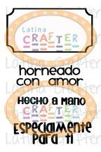Frases en Español (2 x 3) - Latina Crafter - Horneado con Amor #latinacrafter