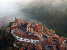 An aerial view of Falletti Castle, and the surrounding town of Barolo, where the museum is located. © Museo del Vino a Barolo. The new Barolo Wine Museum, which opened in has quickly become something of a mecca for lovers of Barolo wines Piedmont Region, Piedmont Italy, Italy Vacation, Italy Travel, Cool Places To Visit, Places To Travel, Places Around The World, Around The Worlds, Barolo Wine