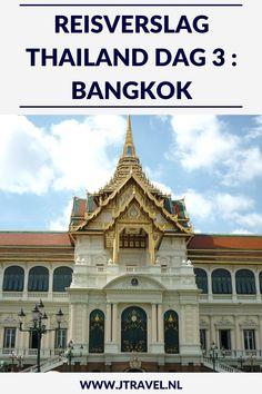 Op dag 3 van mijn 16-daagse groepsrondreis door Thailand bezocht ik de vele bezienswaardigheden van Bangkok, zoals Grand Palace, Wat Phra Kaeo, Chinatown en de Baiyoke Toren. Alles over de derde dag van mijn reis door Thailand lees je hier. Lees je mee? #Thailand #bangkok #reisverslag #jtravel #jtravelblog