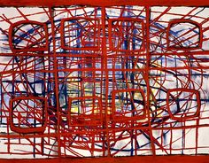 Terry Winters, Computational Architecture, 1995