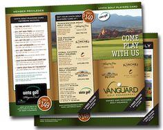 golf design   golf   Pinterest   Golf and Brochures