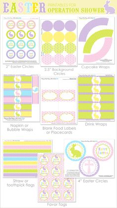 Free Easter Printables~