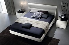 Use your bed to usher in some accent color