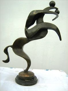 Archipenko: Alexander Archipenko : Horseman 1916 Paris 5/4 Bro...