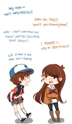 Gravity Falls meets Gravity Rises Part 1/2