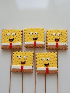 Butik Pasta Kurabiye Makaron: Sponge Bob, Melek, Taç Gold Kurabiye